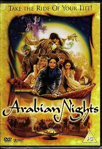 Arabian Nights [DVD] [2007] Starring Mili Avital Alan Bates James Frain Tcheky K