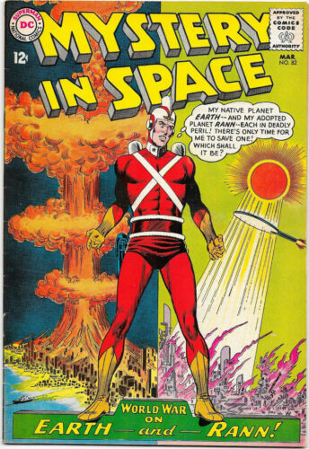 Mystery In Space #82 DC 1963 Adam Strange; Fox / Infantino-Anderson FN+