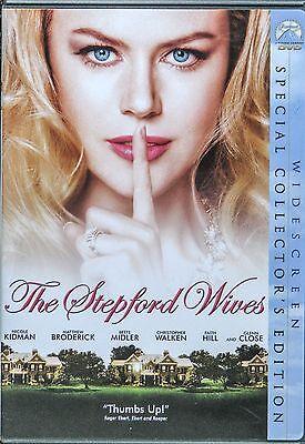 The Stepford Wives Dvd Nicole Kidman  Faith Hill  Bette Midler Ws Collectors Ed