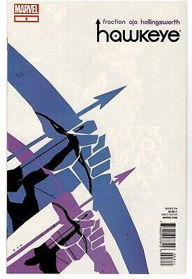 Marvel Hawkeye #3 (2012) Disney+ Fraction Aja Kate Bishop Pizza Dog Hot Series!