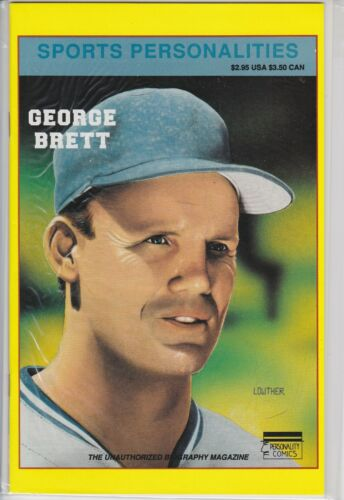 GEORGE BRETT SPORTS PERSONALITIES COMIC BOOK