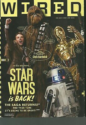 WIRED MAGAZINE MARCH 2013 STAR WARS IS BACK!