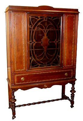 Used, Antique Depression Era China Hutch w/ Linen Drawer by Statesville Furniture for sale  Athens