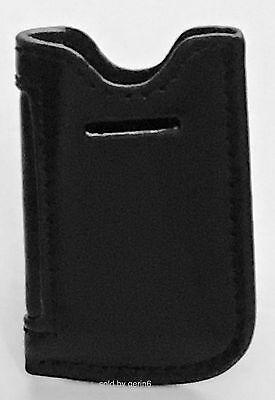 Black Leather Case Pouch For S.T. Dupont Maxijet Lighter, New In Box