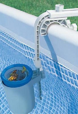 Skimbi Above Ground Swimming Pool Surface Skimmer For Intex & Soft-Sided Pools Above Ground Pool Skimmer