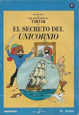 DVD LAS AVENTURAS DE TINTIN - VARIOS EPISODIOS - NUEVO