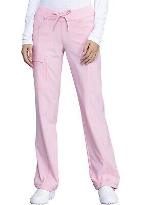 Pink Tonic Cherokee Scrubs Infinity Drawstring Pant 1123A PKTO Antimicrobial