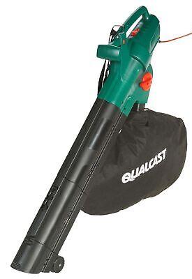 Ex Display Qualcast YT623105X 2800W Home Garden Leaf Blower & Vacuum 40L #2