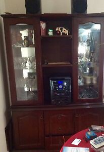 Dark wood Hatch & Buffet for Sale Springvale Greater Dandenong Preview