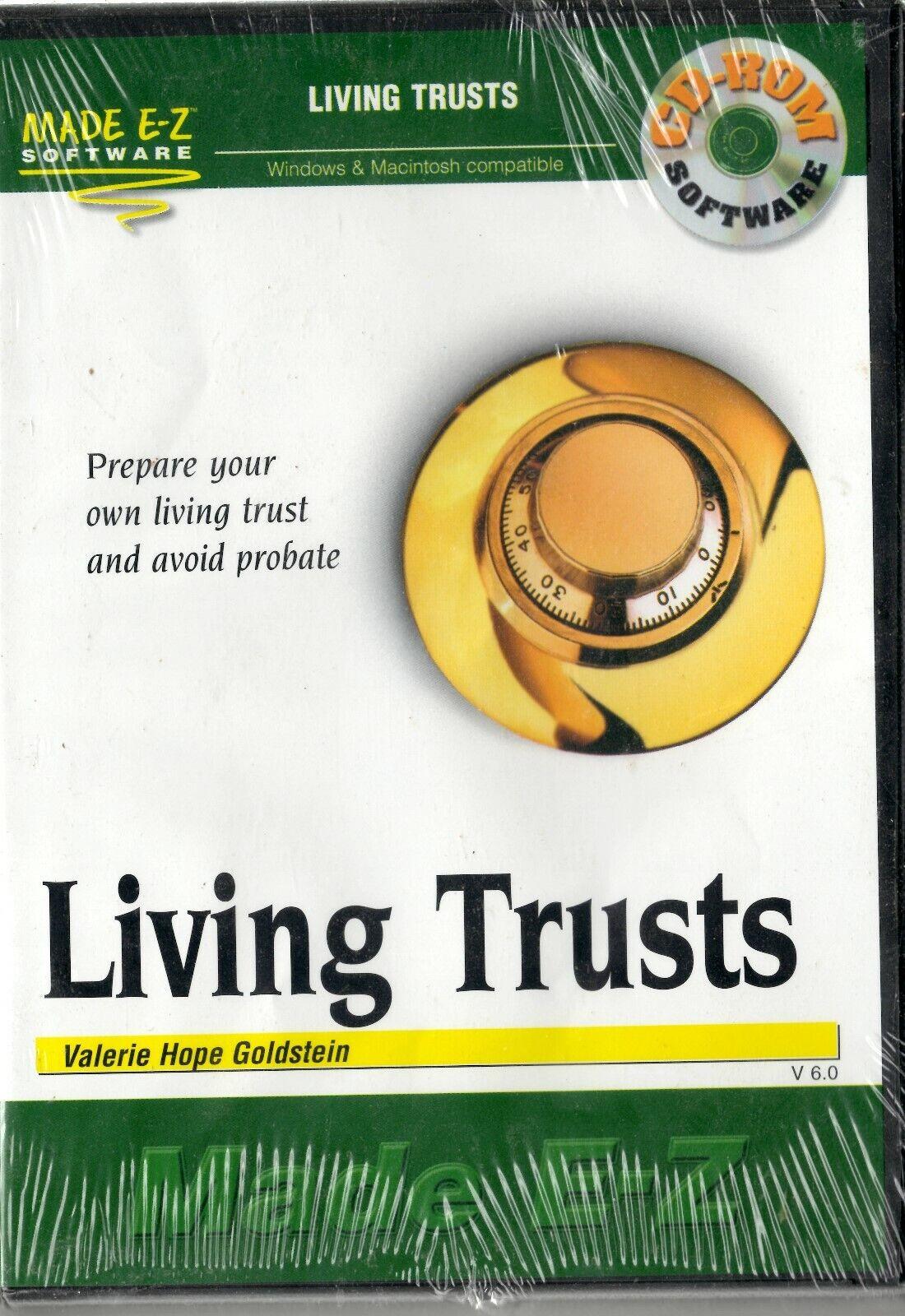 Made E-Z Software - Living Trusts - CD-ROM 2001