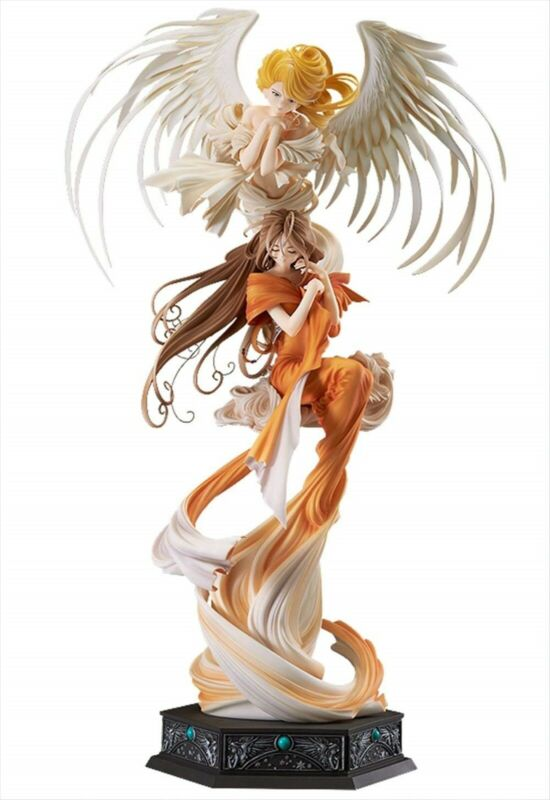 Ah! My Goddess Belldandy with Holy Bell 1/10 PVC Figure Max Factory Used