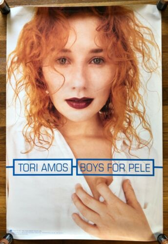 Tori Amos Boys for Pele RARE original promo poster 1996