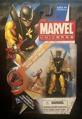 2 Yellow Jacket Action Figure - Marvel Universe YELLOW JACKET with ANT MAN Action Figure Series 2 #32 NEW SEALED