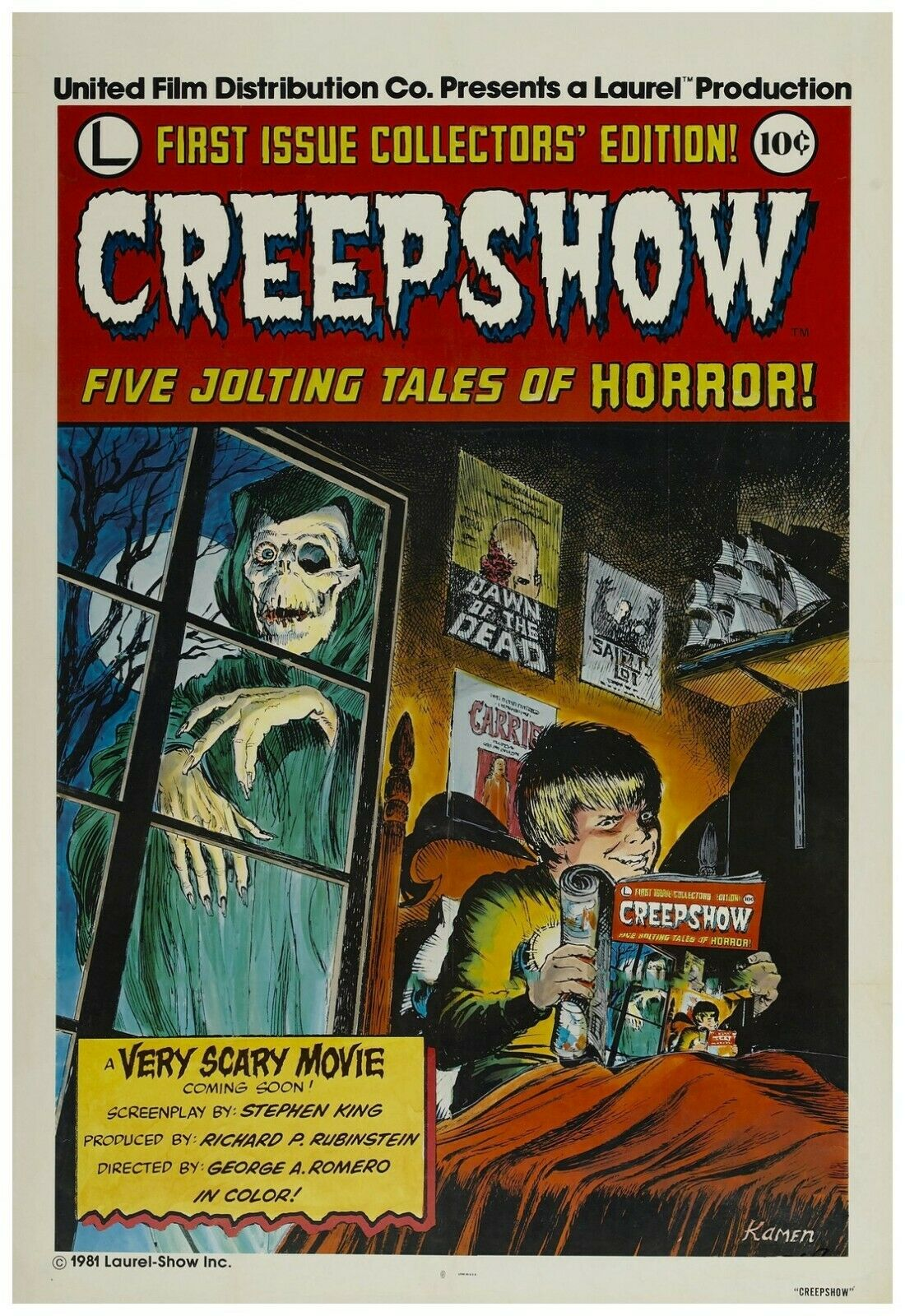 Creepshow Movie Poster 24x36 Inch Wall Art Print - Frame Rea