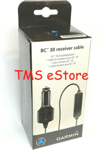 Garmin Wireless Receiver/Vehicle Traffic & Power Cable for BC 30 Backup Camera