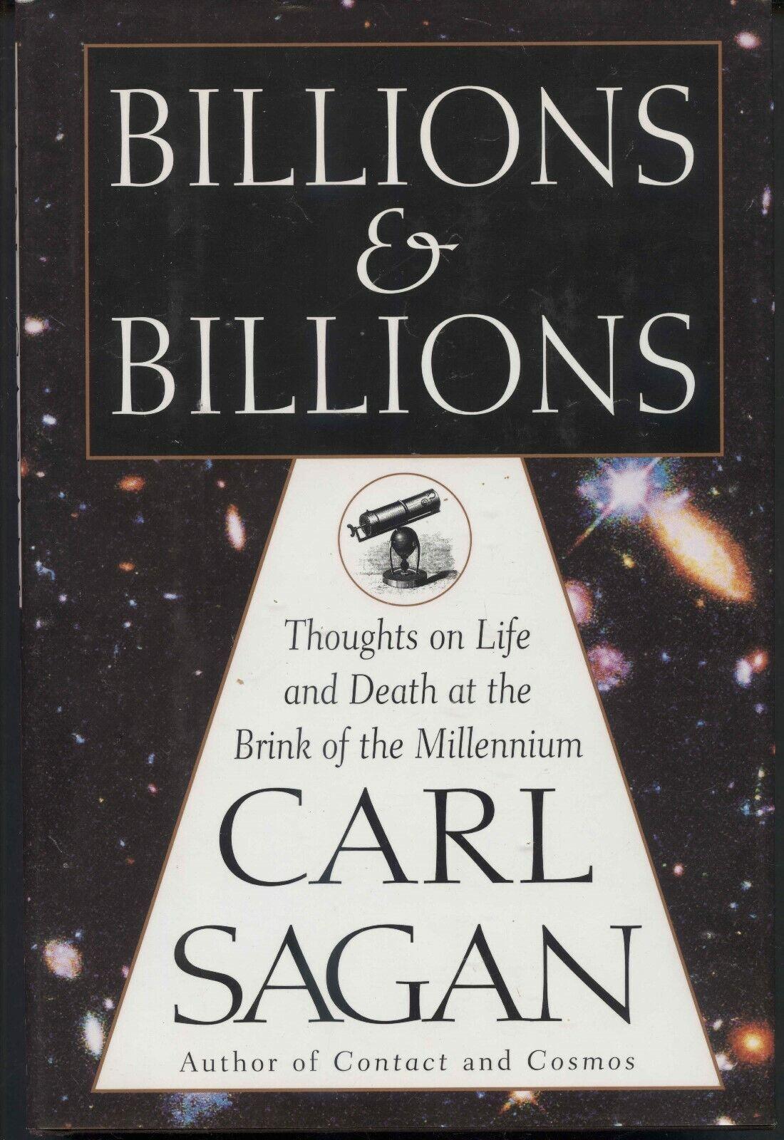 "CARL SAGAN""S  ""BILLIONS & BILLIONS""  HARDCOVER"