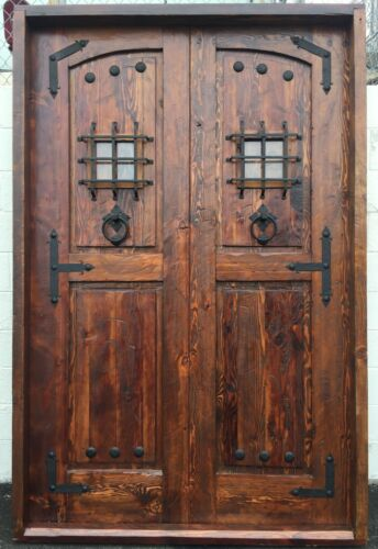 Rustic reclaimed lumber door file PDF files for doors