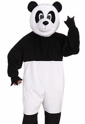 Adult Panda Costume Plush Furry Deluxe Bear Cosplay Animal Mascot - Fast Ship - (Panda Bear Mascot Costume)