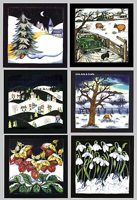 Moorcroft Christmas Cards - 6 different Cards ()
