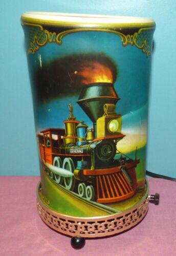 Econolite John Bull & General Railroad Train Locomotive Motion Lamp No Spinner