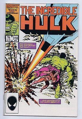 Incredible Hulk 318 NM+ 9.6 Copper Age