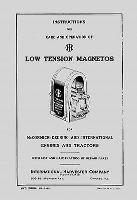 Ihc Low Tension Magnetos