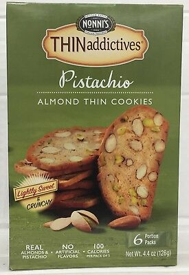 (Nonni's Thin Addictives Pistachio Almond Thins 4.44 oz Nonnis)