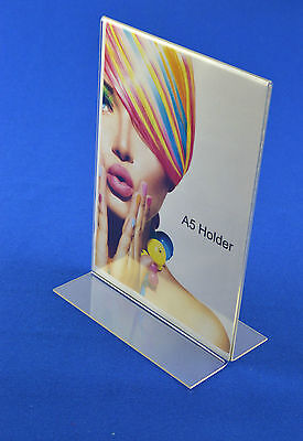 50 x A5 Menu / Price / Poster / Leaflet Holder Double Sided Portrait PDS8042