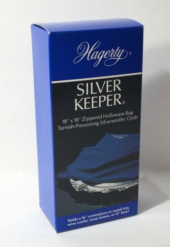 "Hagerty Silver Keeper 18"" x 18"" Zippered Holloware Bag Anti Tarnish 19600 NEW"