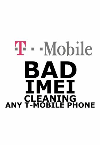 T-MOBILE USA IMEI Cleaning SERVICES from LOST/Stolen only