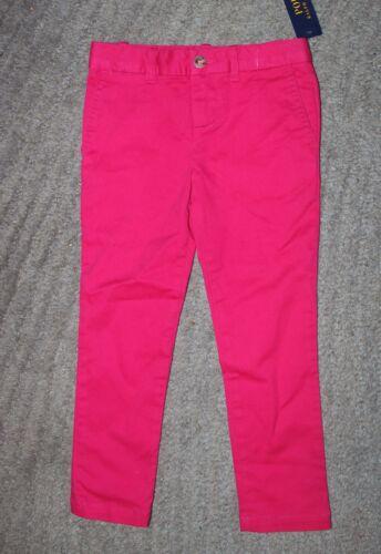 Polo Ralph Lauren Girls Pink Pants - Size 4 - NWT