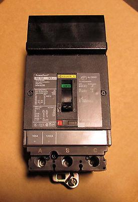 X New No Box Square D 100 Amp I-line Circuit Breaker Hga36100 Powerpact