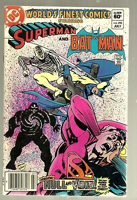 1983 DC-World's Finest Comic-Superman & Batman #293-Friends-David Anthony Kraft-