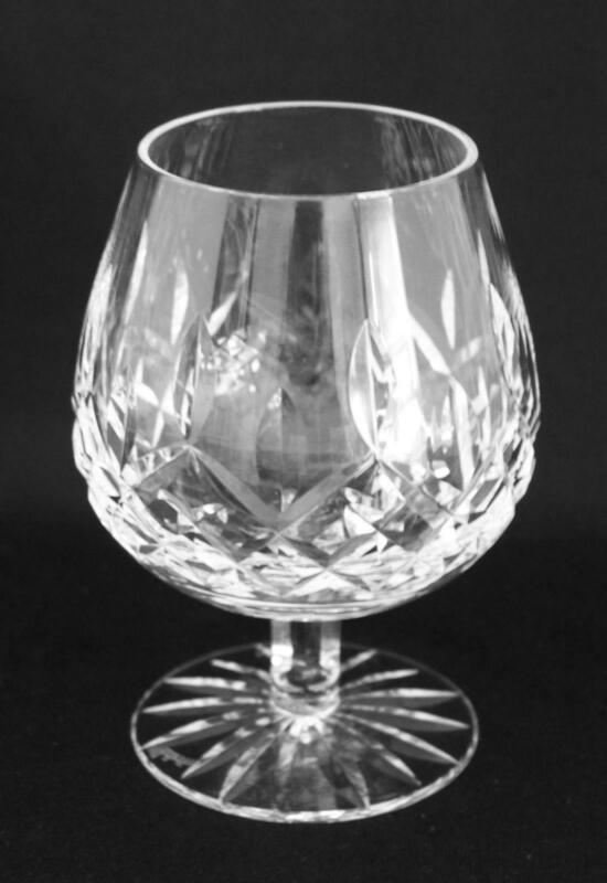 Waterford Irish Cut Crystal Lismore Brandy Snifter Goblet Glass, 12oz. 5  1/4""