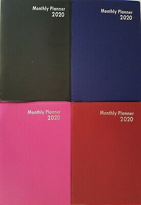 2020 Monthly Appointment Planner Calendar Day-timer 7.5 X 5 Select Color