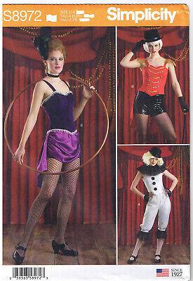 Zirkus Rädelsführer Trapez- Künstler Acrobat Löwe Tamer Kostüm Muster 6 8 10 - Trapez Zirkus Kostüm