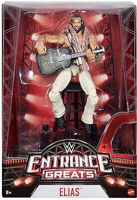 WWE Mattel Wrestling Action Figure Ingresso Greats Elias Elite Chitarra Sampson
