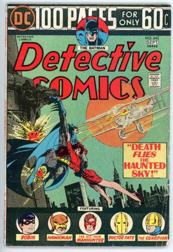 Detective Comics #442 (DC, Sept 1972) Vintage Superhero Comic Book