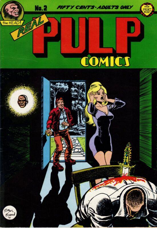 Real Pulp Comics No. 2, 1973, Print Mint, Berkeley, CA