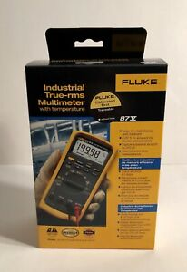 Fluke 87v with Certificate of Calibration - Brand New