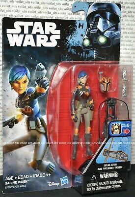 "Hasbro Star Wars Rebels Rogue One Series 3.75"" Figure Sabine Wren"