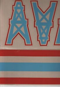 Houston Oilers Decals Ebay