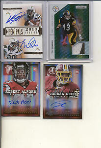 2013 LIMITED KEENAN ALLEN MANTI TE'O RC DUAL AUTO ON CARD AUTOGRAPH CHARGERS