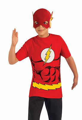 Supremes Fancy Dress Kostüme (Flash Child Shirt Mask Halloween Costume Supreme Event Fancy Dress Rubies)