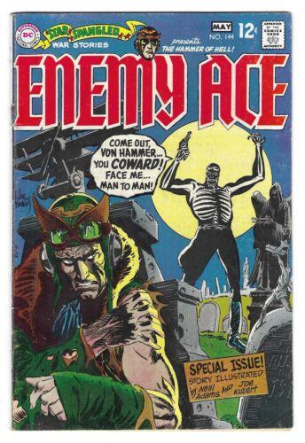 STAR SPANGLED WAR STORIES Enemy Ace #144 SILVER AGE COMIC BOOK Adams Kubert 1969