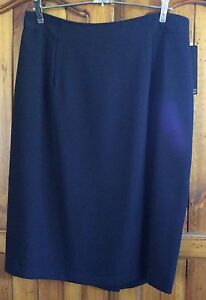 """Navy Blue Fully Lined 23"""" Skirt from Katies - Size 16 Birrong Bankstown Area Preview"""