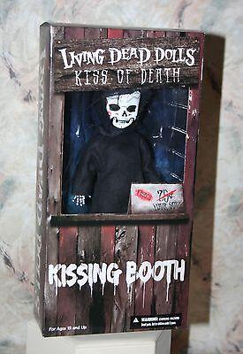 "LIVING DEAD DOLLS KISS OF DEATH HORROR GOTHIC DOLL 10"" TALL MEZCO NEW 2014"