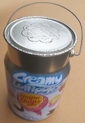 Chupa Chups Lollipops Blechdose Dose Werbung Milchkanne Blech Schlemmerlutscher
