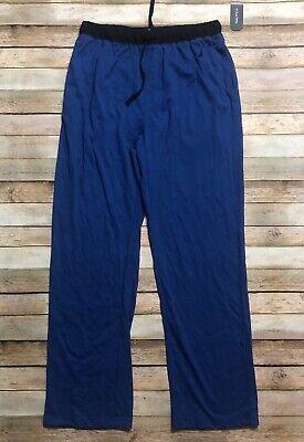 Nautica Men's blue XL Colorblocked Pajama Pants Lounge Soft Comfortable Sleep