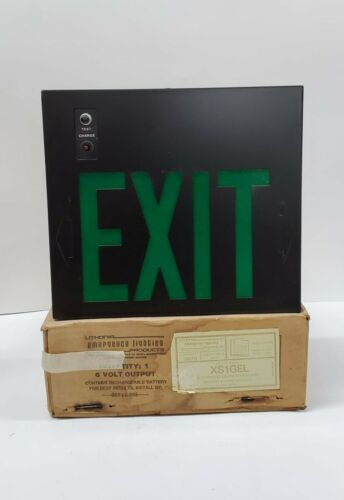 Lithonia Lighting XS1GEL Self Powered Emergency Exit Sign